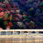 暮れゆく嵐山 Colors -Ranzan