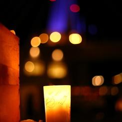 Warm lamplight I