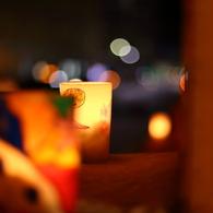 Warm lamplight III