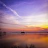 竹生島孤影