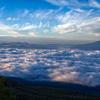 高峰高原から見る雲海