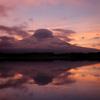 田貫湖からの富士 -T