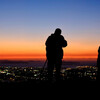 夕陽のカメラマン②