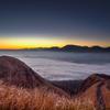 阿蘇の黎明 1月撮影