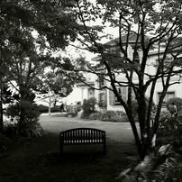 イタリア山庭園の隅