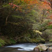 江竜田の滝遊歩道