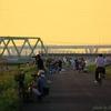 『第38回隅田川花火大会』が始まるまで・・・#3 人が集まって来た