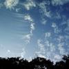 遠くのおもしろい雲・・・