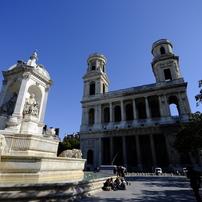 パリ サン・シュルピス教会