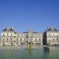 パリ リュクサンブール宮殿と公園