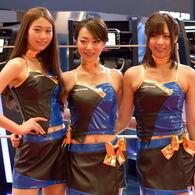 東京モーターショー2015の女神たち ALPINE
