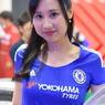 東京モーターショー2015の女神たち 横浜タイヤ 2