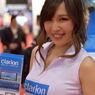 東京モーターショー2015の女神たち clarion