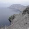 初雪の十和田湖