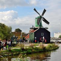 アムステルダムの街で