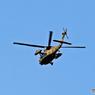 ☮休憩タイム(301)ベランダから撮れたヘリ