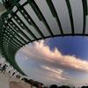 The sky in port