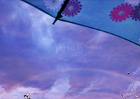 rainbow&umbrella