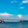 関門海峡大橋 ①
