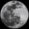 満月(近赤外742nmにて)