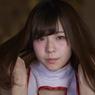 少女A 髪ぱらっと3