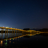 津軽富士見湖の夜