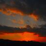 冬 六甲山の夕焼け