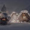 日本の冬景色