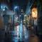 La nuit s'est habillée de pluie