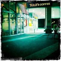 街のカフェ