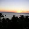 モートン島の夕焼け