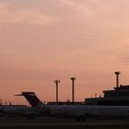 JAL MD-90 MD-81 出雲空港