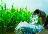 水田の水入れ