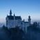 霧煙る天空の古城