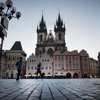 プラハの街で
