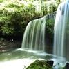 熊本 鍋ヶ滝  滝の裏を歩けます
