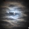 「 闇夜の月 」