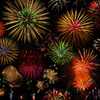 Fireworks at 地元。