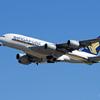 「すかい」 Singapore A380-841 9V-SKK 飛行