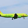 「良い天気」 S7 A320-214 VQ-VDE Landing