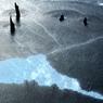 氷庭濡れ山水