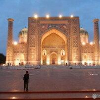 ウズベキスタン シルクロードの都市