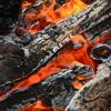 若一王子神社・境内の焚き火