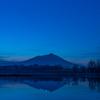 Mt.Tsukuba at blue hour