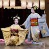 京都 東山花灯路 祇園甲部による奉納舞踊