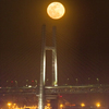 月とベイブリッジ