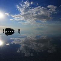 憧れのウユニ塩湖へ