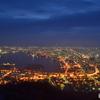 夜明け前の函館
