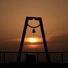 室蘭港の夕焼け -2