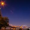Five colors cherry Bridge